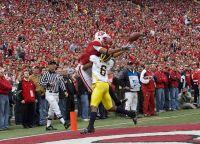 A Badger Touchdown catch